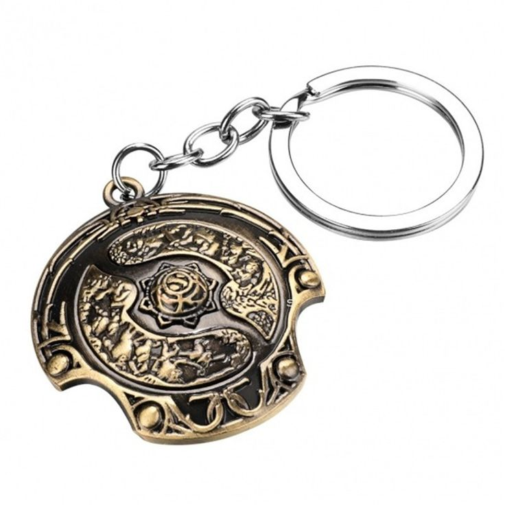 FREE DOTA 2 Immortal Champion Key Chain Value $17.99 Yours For FREE !