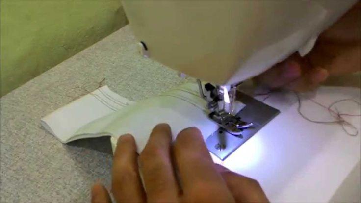 Como usar agulha dupla Singer na máquina de costura