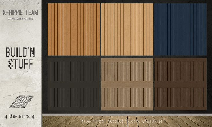 Mod The Sims - Nihon Set - Rice Paper Walls & Wood Floors