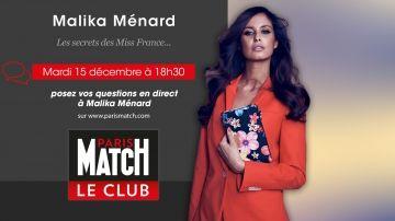 Les Secrets des Miss France - Dialoguez en direct avec Malika Ménard Check more at http://people.webissimo.biz/les-secrets-des-miss-france-dialoguez-en-direct-avec-malika-menard/