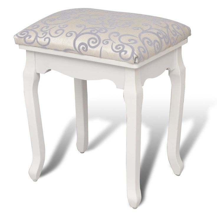 Pick several bedroom chairs stools which will add some comfort to your dorm. The stools are made of wood and upholstered with fabric.  sc 1 st  Pinterest & The 25+ best Cream dressing table stools ideas on Pinterest ... islam-shia.org