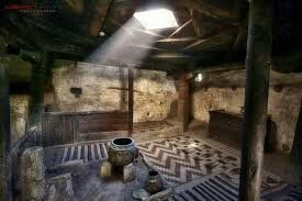 A room inside ALTIT FORT, Hunza Valley, Pakistan.