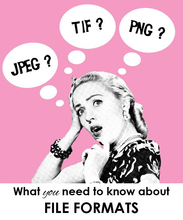 Great in a nutshell post about jpeg, tif, and png...I've read many articles and this is the best short synopsis I've found that is completely in line with what I've learned through reading A LOT.