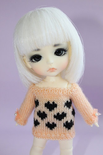 Lati YellowPukifee  Lil Hearts Sweater in by DoLLYSToRY on Etsy, $29.00