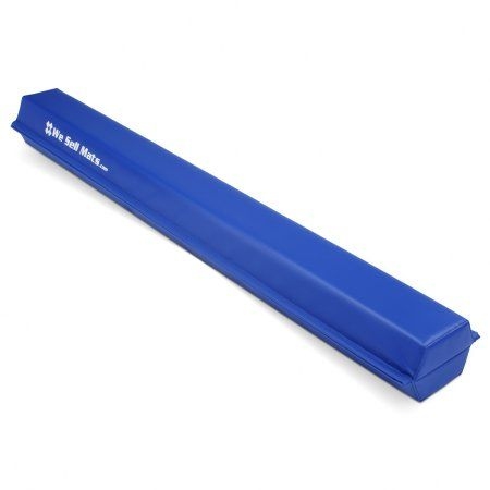 We Sell Mats 9 Folding Floor Balance Beam Blue