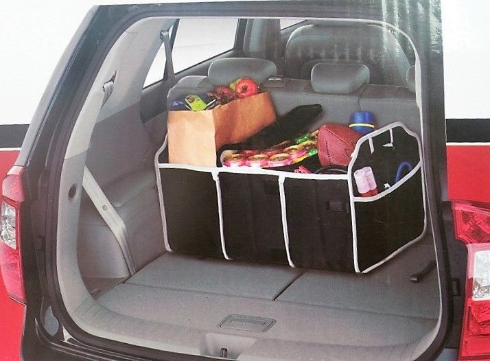need this for summer with the kids and dog - Car Trunk Organizer Great for the Beach Camping Storage Shopping Shoes BBQ Etc #Unbranded