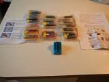 BONJOUR JE VEND L ENSSEMBLE COMPLET DE MES CARTOUCHES COMPATIBLE  AVEC PROGRAMATEUR DE PUCE EPRMET DE METRE A ZERO LE COMPTEUR :)  CONTENUE DU PACK  CLI8-BK X5  CLI-8C X3  CLI-8M X1  CLI-8Y X3  PGI-5BK X2  PROGRAMATEUR DE PUCE ET NOTICE DE MISE EN SERVICE  POSSIBILITE DE REMISE EN MAIN PROPRE SUR PARIS ET RP   #canon #ink #compatible