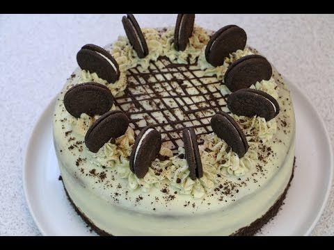 """Торт """"Орео"""" по мотивам известного печенья ✧ Oreo Cake Recipe - YouTube"""