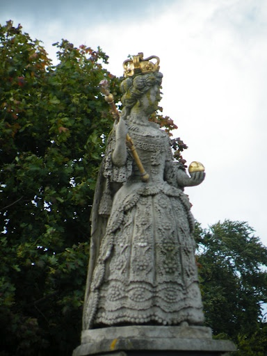 There are not many statues to Queen Anne around the UK, but there is one in Barnstaple, Devon
