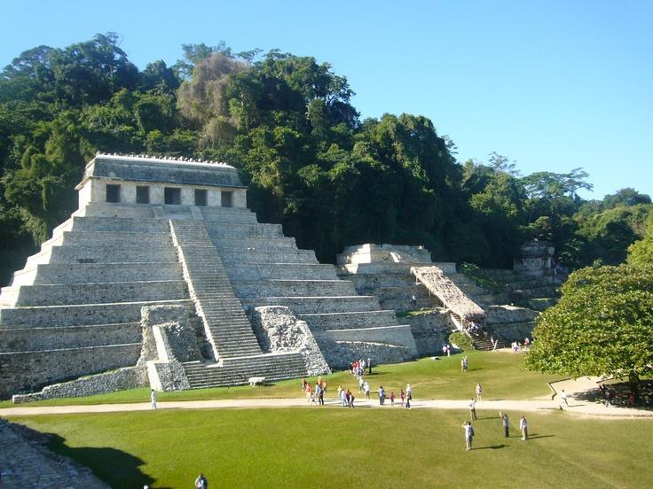 Ruta Maya en Chiapas.