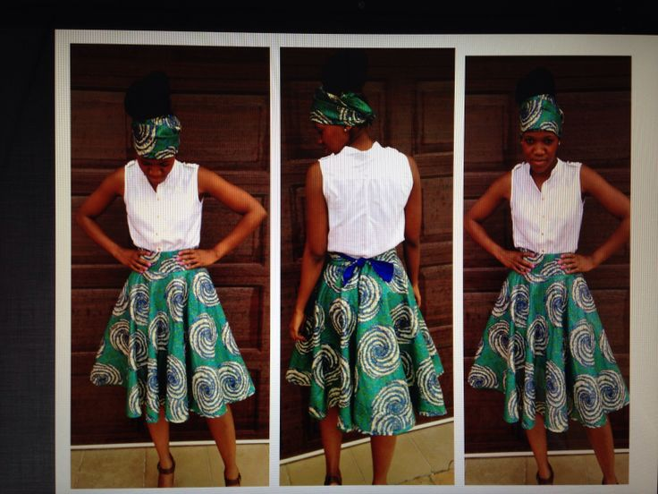 African Print Fashion Skirts