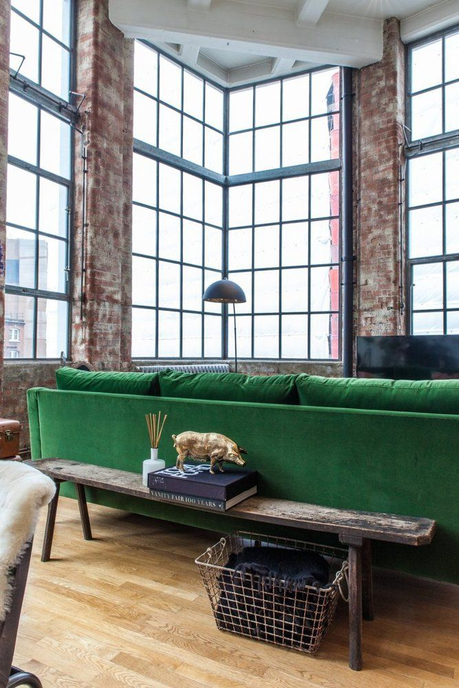 House Tour: An Eclectic London Loft | Apartment Therapy