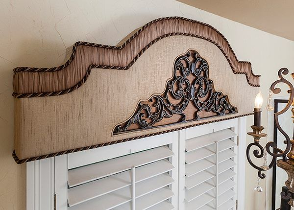 Wrought Iron Cornice : Best images about iron look window covering on