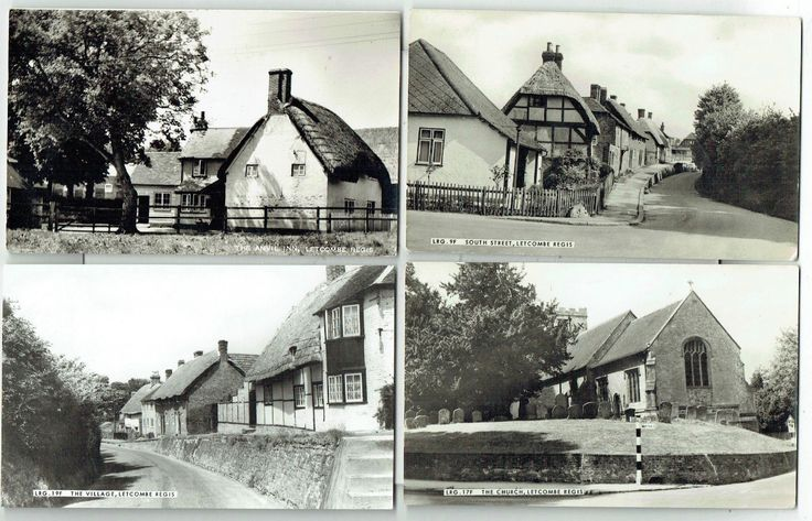 Views of Letcombe Regis, Oxfordshire - Four 1950/60s Real photo Postcards | eBay