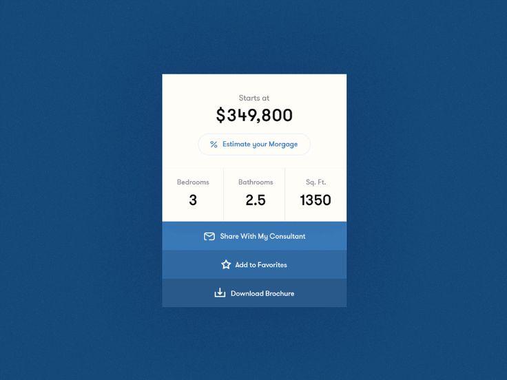9 best calculators images on Pinterest Mortgage calculator, Ui ux
