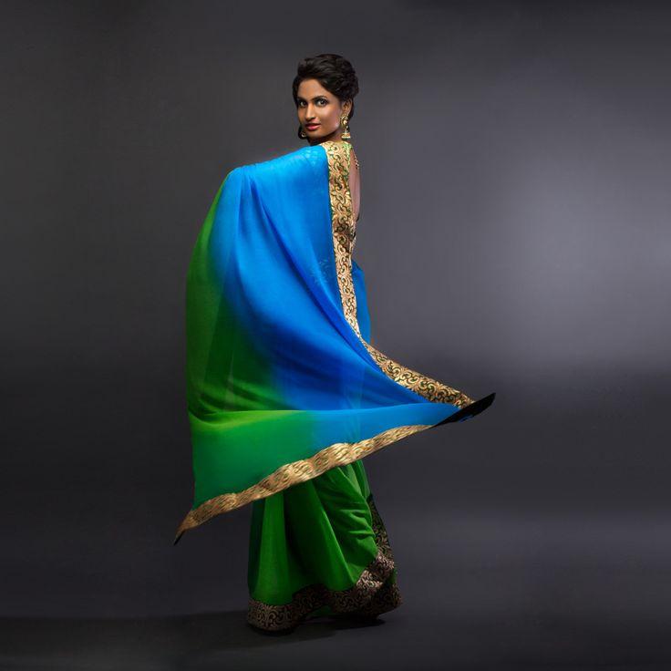 Client #inspira Koramangala Bangalore model @deeptimohan #saree #indiandress