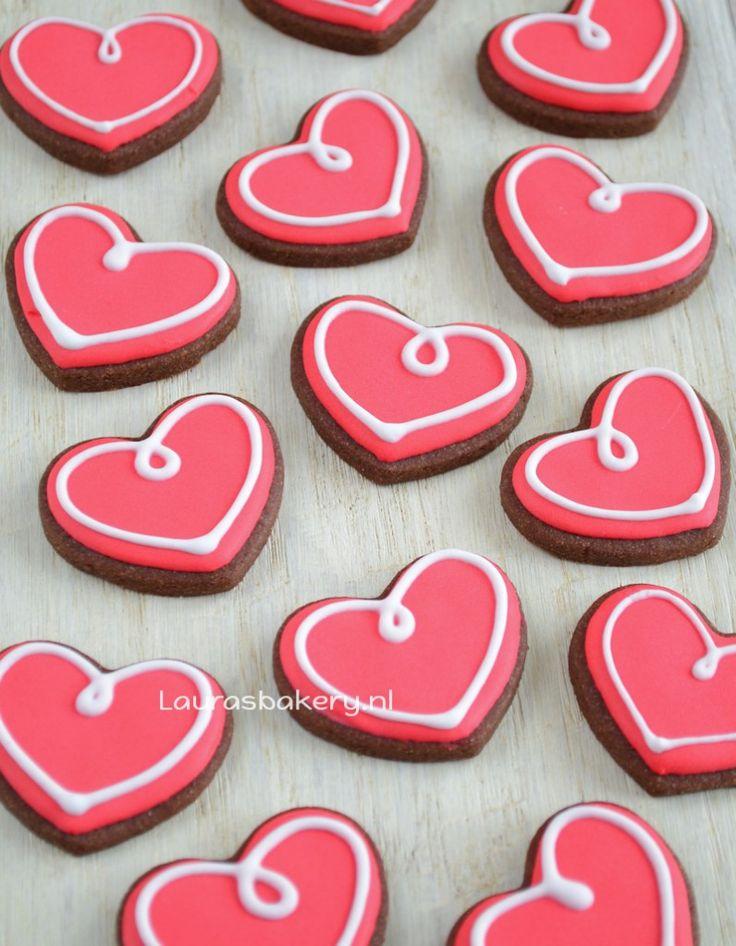 Na het maken van mijn lijstje met ideetjes voor Valentijn viel het mij op dat zo'n beetje alles harten bevatte. Beetje cliché, maar ja, daar draait Valentijn natuurlijk ook wel een beetje om. Ik beslo