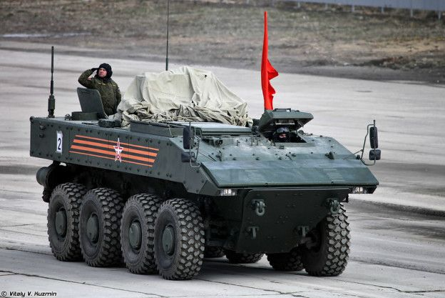 Bumerang 8×8 Armoured Personnel Carrier (K-16 APC)   Thai Military and Asian Region