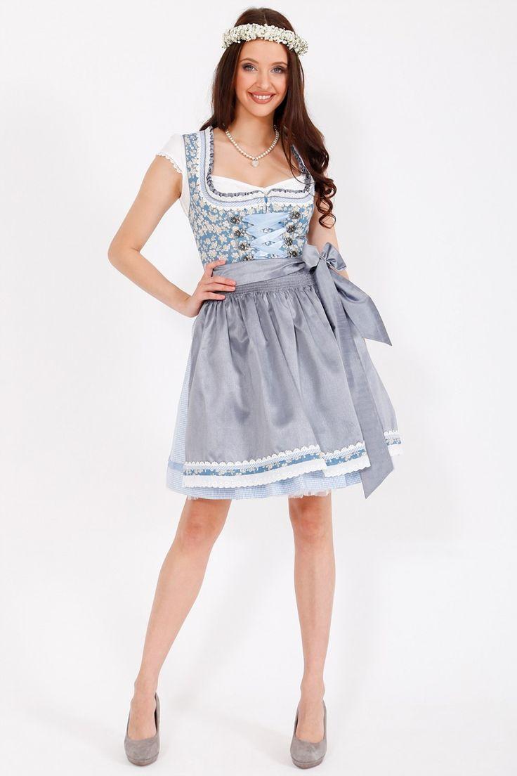 Dirndl Alice (blau) - Dirndl  - Kleidung - Damen  | Krüger Dirndl