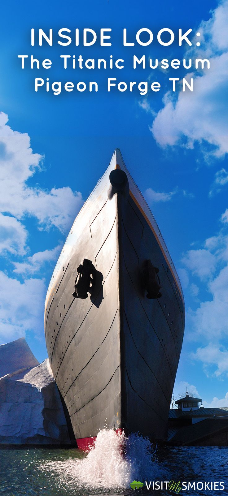 Inside Look: The Titanic Museum Pigeon Forge TN - http://www.visitmysmokies.com/blog/pigeon-forge/attractions-pigeon-forge/inside-look-titanic-museum-pigeon-forge-tn/