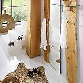 Spiegel Eiche Woodline massiv 70x190cm für Flur Pickupmöbel.de