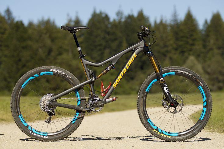 First Ride: Santa Cruz Bronson Carbon - 650B Ripper