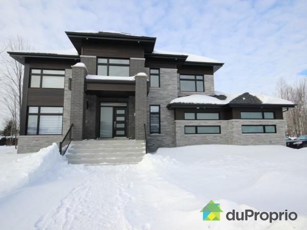 Maison neuve à vendre Blainville, 2, rue de Brabançon, immobilier Québec   DuProprio   584122