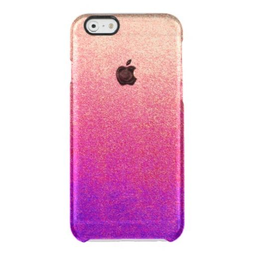Peach Pink Neon Purple Ombre Spray Paint Texture Clear