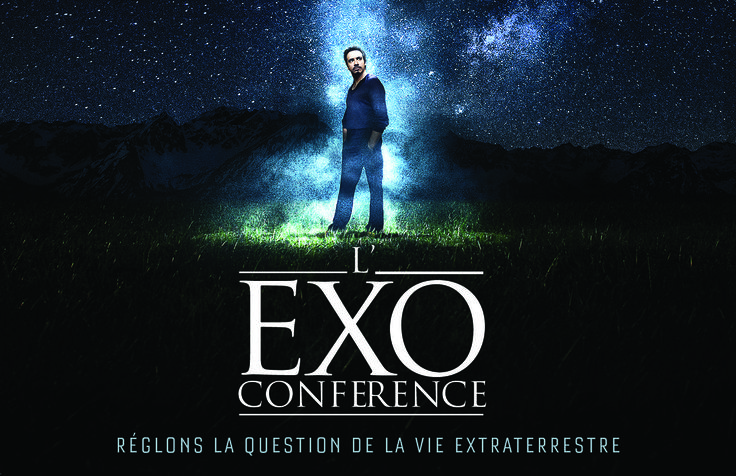L'Exoconférence d'Alexandre Astier ! DVD – BluRay