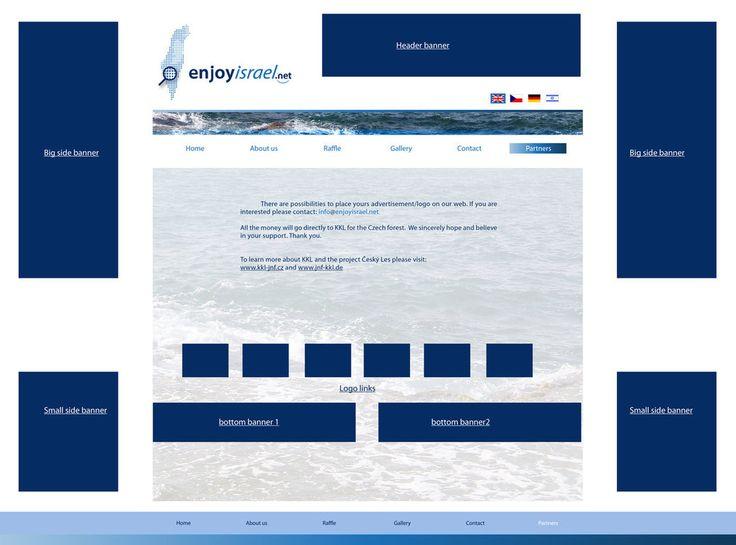 Partners page - enjoyisrael.net  http://enjoyisrael.deviantart.com/art/Partners-page-enjoyisrael-net-631054589