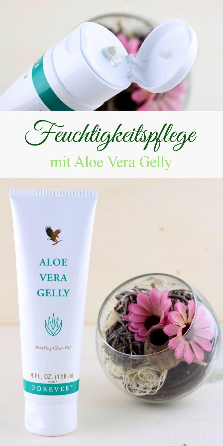 Feuchtigkeitspflege mit Forever Aloe Vera Gelly - Aloe Vera Gel - Pflegegel - Feuchtigkeitsgel