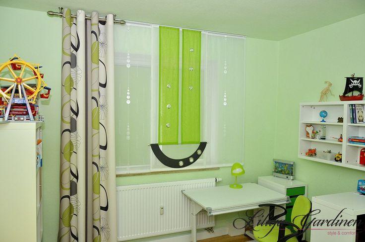 vorhang kinderzimmer punkte 103435 neuesten ideen f r. Black Bedroom Furniture Sets. Home Design Ideas