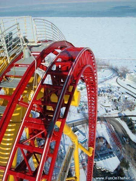 Cedar Point amusement park Ohio Scary roller coasters