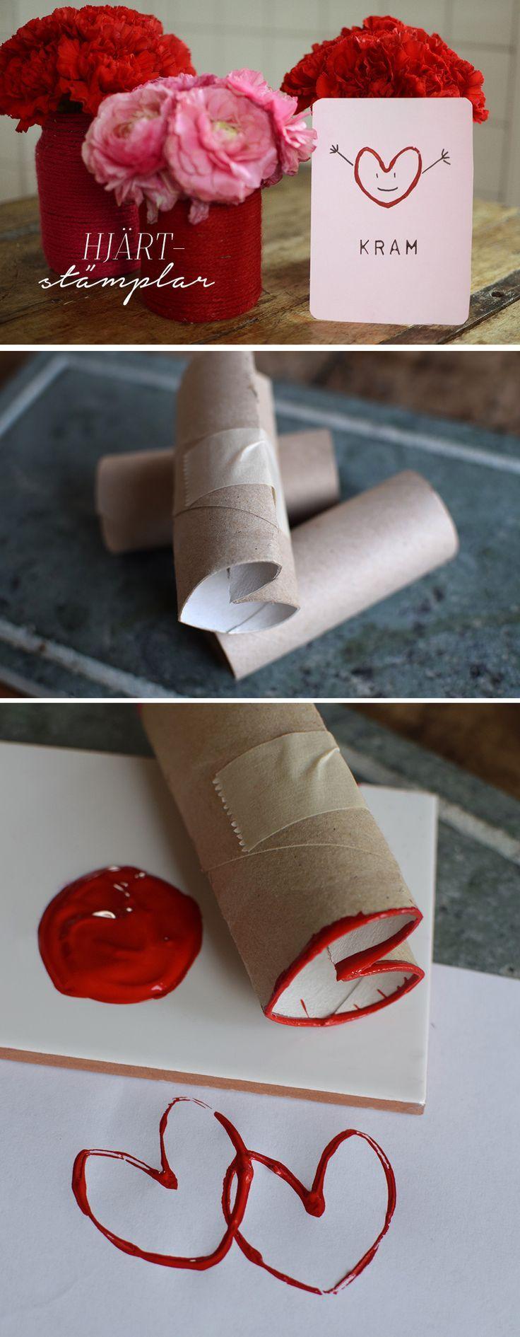 Pyssel Alla Hjärtans Dag | DIY Valentine's day @helenalyth.se