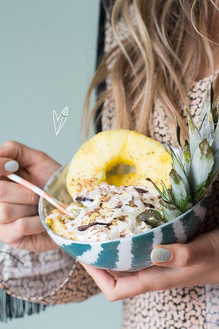 Yum! Dit is zo'n lekker zomers recept. Een ideaal toetje voor na een zomers dinertje, maar wij genieten er ook graag van als ontbijt of tussendoortje!