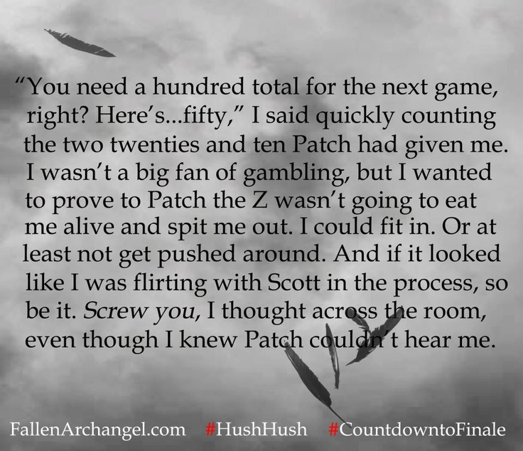 Fallen Angels Book Quotes: 139 Best Patch Cipriano (Hush Hush Saga) Images On