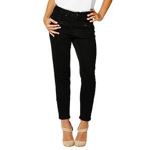 Dannii Minogue Petites 7/8 Skinny Leg Jeans - Black – Target Australia