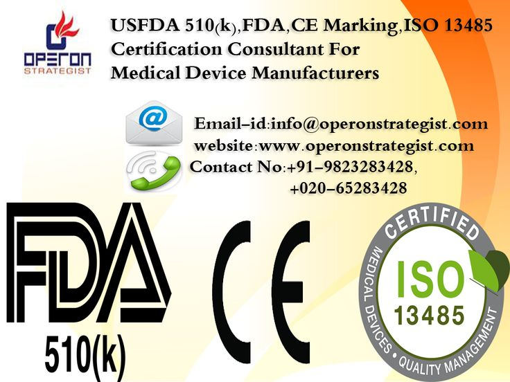 #FDA,#USFDA 510(k),#CE Marking,#ISO 13485 ,#USFDA 21 CFR part 820 #Certification #Consultant For #Medical #Device Manufacturers: To Know More Info: Contact No:+91-9823283428, +020-65283428 Email-id:info@operonstrategist.com,anilmchaudhari@gmail.com Website:www.operonstrategist.com