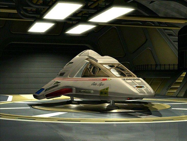 The Delta Flyer from Star Trek Voyager.