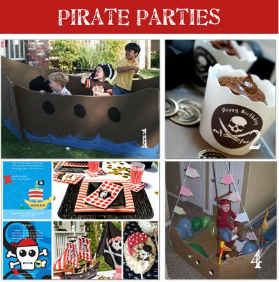 Pirate party. Aarrggh!