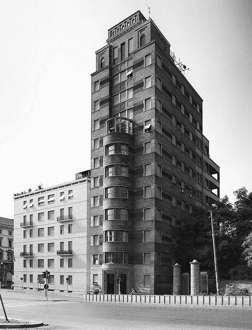 gio ponti e emilio lancia - casa rasini, corso venezia, milano, 1933