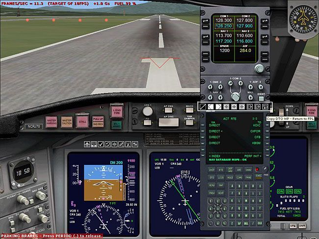 FS2004/FSX GPS And FMC Flight Plan Icons New Mirc addon  June 15