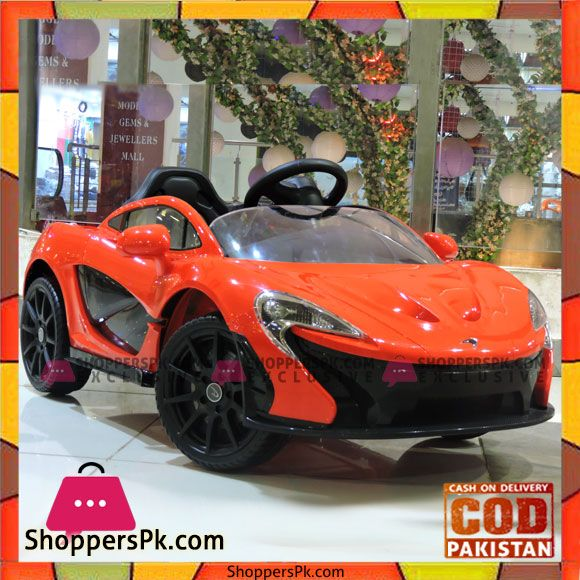 Buy Licensed Mclaren P1 12v Battery Powered Ride On Kids Car Remote Control At Best Price In Pakistan Car Mclaren P1 Kids Ride On