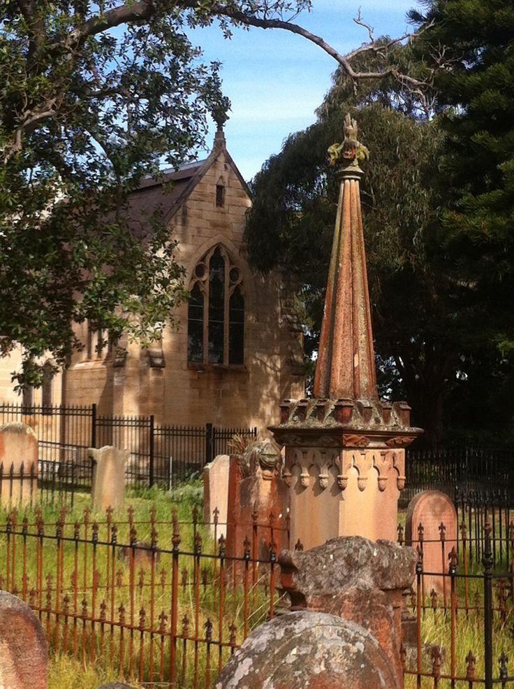 St Jude's Church and cemetery, Randwick, Sydney, NSW, Australia
