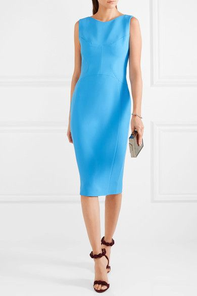 Antonio Berardi - Stretch-cady Dress - Blue - IT46