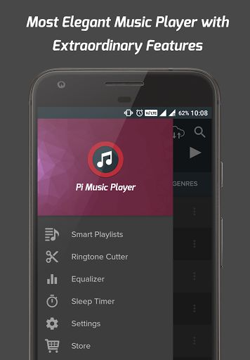 Pi Music Player v2.5 [Unlocked]   Pi Music Player v2.5 [Unlocked]Requirements:4.1Overview:Pi Music Player is a stunning Music Player beautifully crafted with Material Design in mind and packed with some extraordinary powerful features. It is one of the Best Music Players which can fulfill all your Musical needs. The built-in Equalizer adds a great value to your music hearing experience.  The more attractive and intuitive User Interface combined with the crisp and clean layouts will give you…