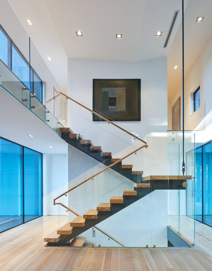 Gallery Of Gallery House Robert Gurney 16 Home Stairs Design | Stairs Design Inside Home | Interior Staircase Simple | Wooden | Outside | Short | Behind Duplex