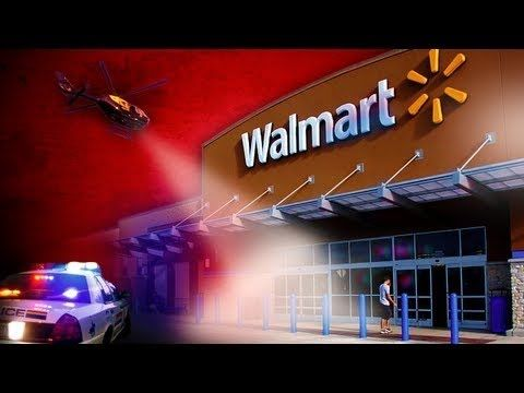 What's really inside the closed WalMart? Jade Helm 15