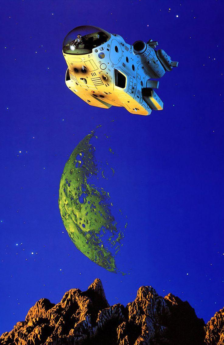 Tim White, retro-future, space-fiction, sci-fi
