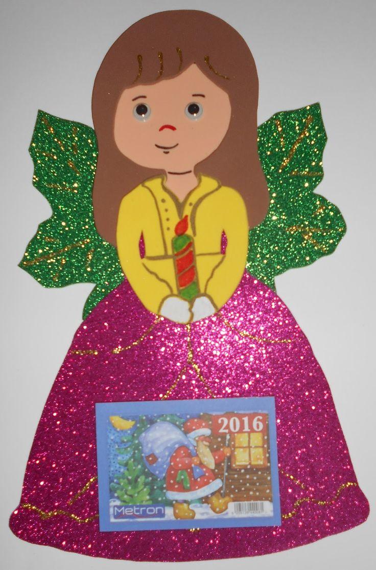 Τα πρωτάκια 1: Χριστουγεννιάτικα ημερολόγια (Άγιος Βασίλης,πιγκουίνος,μπαλαρίνα,κοκκινολαίμης,τάρανδος,ήρωες παραμυθιών κ.λπ)